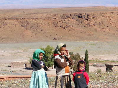 Ouarzazate  |  Children and High Atlas