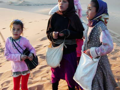 Erg Chebbi  |  Children