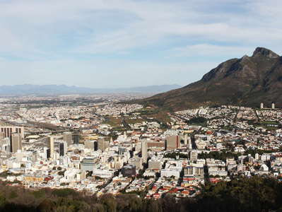 Cape Town with Devil's Peak