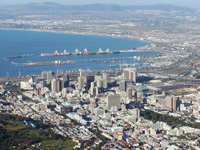 Cape Town with Table Bay