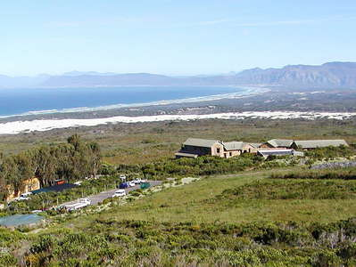 Grootbos NR with Garden Lodge and Walker Bay