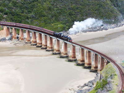 Dolphin Point  |  Outeniqua Choo-Tjoe Train