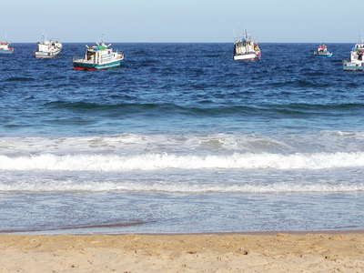 Plettenberg Bay  |  Fishing boats