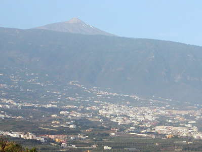 Valle de Orotava and Pico del Teide