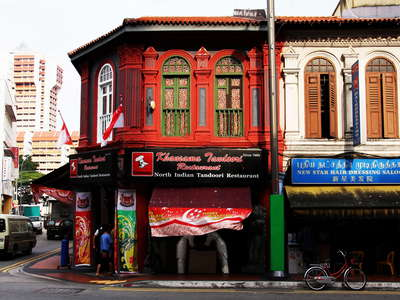 Little India  |  Buildings in Serangoon Road
