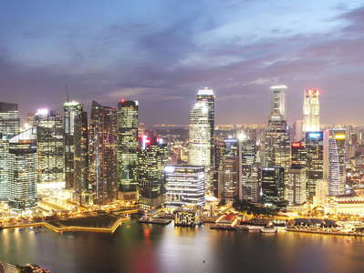 Marina Bay and Financial District