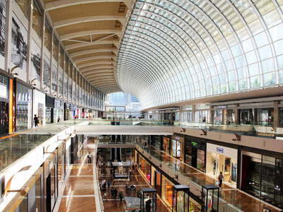 Marina Bay Sands  |  Shopping mall