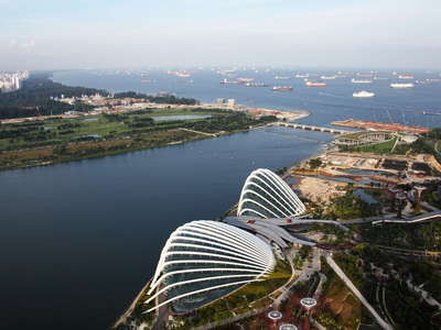 Gardens by the Bay and Marina East