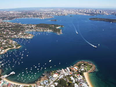 Sydney Harbour with Watsons Bay
