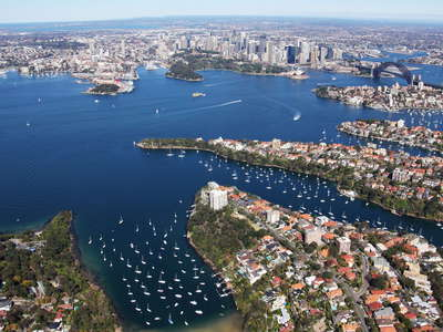 Sydney Harbour with Mosman Bay