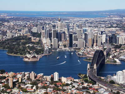 Sydney  |  Harbour Bridge and CBD