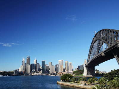 Sydney   |  CBD and Harbour Bridge