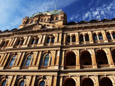 Sydney  |  Old government building in the CBD