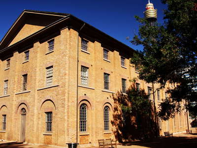 Sydney  |  Hyde Park Barracks