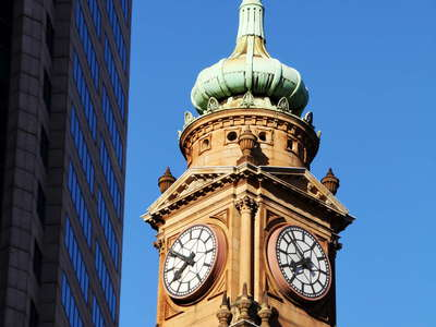 Sydney  |  Clock tower in the CBD