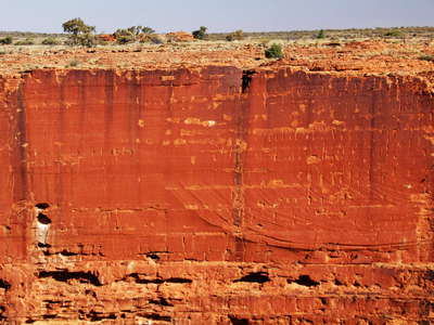 Watarrka NP  |  Escarpment of Kings Canyon