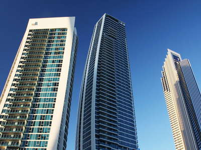 Surfers Paradise  |  Collection of tall buildings