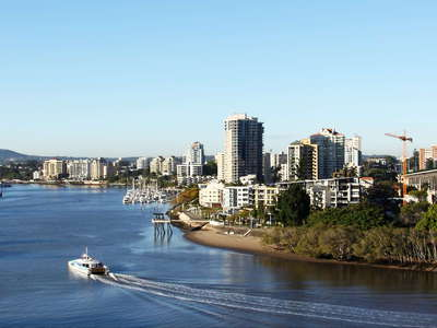 Brisbane  |  Story Bridge and Brisbane River