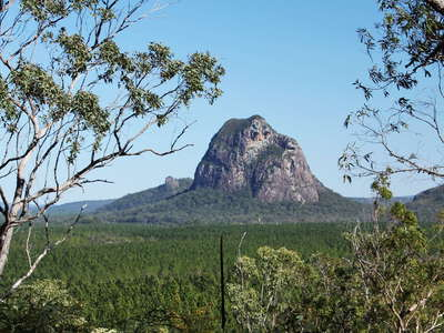 Glass House Mountains  |  Mt. Tibrogargan