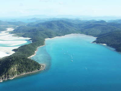 Whitsunday Island with Hill Inlet