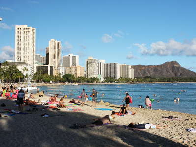 Honolulu  |  Waikīkī Beach