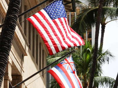 Honolulu  |  Flags