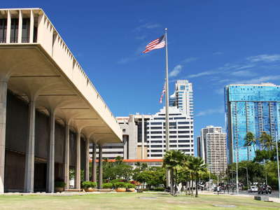 Honolulu  |  State Capitol and CBD