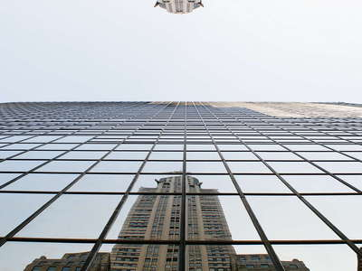 Midtown Manhattan  |  Reflection