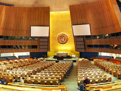 UN Headquarters  |  General Assembly Hall