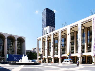 Upper West Side  |  Panorama of Lincoln Center