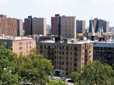 Harlem  |  Residential buildings