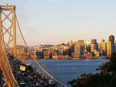 San Francisco  |  Bay Bridge and CBD