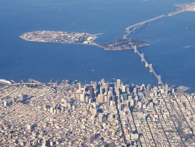 San Francisco  |  CBD and Bay Bridge