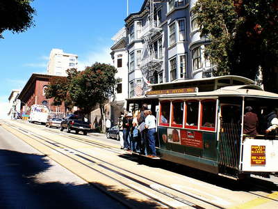 San Francisco  |  Cable car