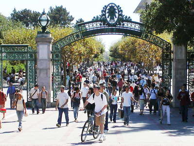 Berkeley University  |  Entrance gate