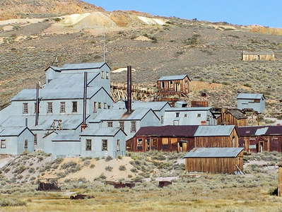 Bodie  |  Standard Consolidated Mining Company Stamp Mill