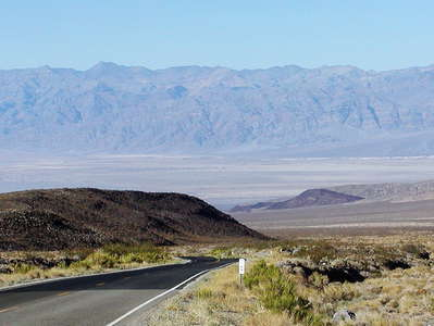 State Route 190 towards Death Valley