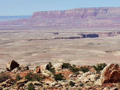 Kaibab Plateau with Vermilion Cliffs and Marble Canyon