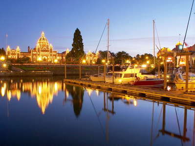 Victoria  |  Inner Harbour and Parliament