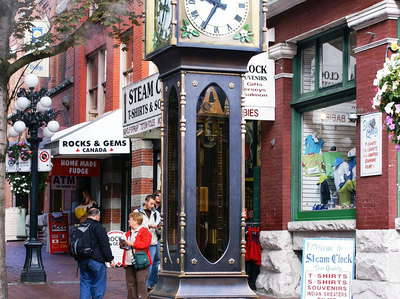 Vancouver  |  Gastown Steam Clock