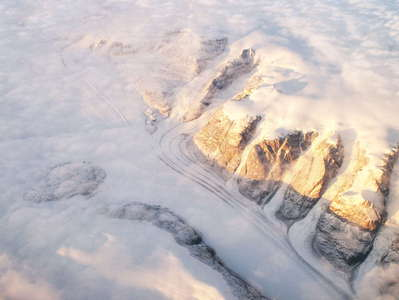 Eastern Greenland  |  Outlet glacier