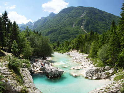 Trenta Valley with Soča