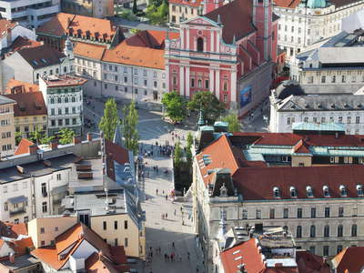 Ljubljana  |  City centre