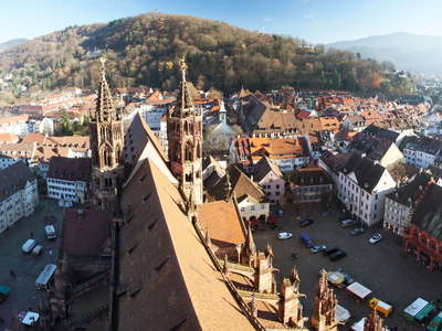 Freiburg im Breisgau  |  Münster and historic centre