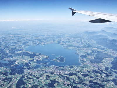 Upper Bavaria with Lake Chiemsee