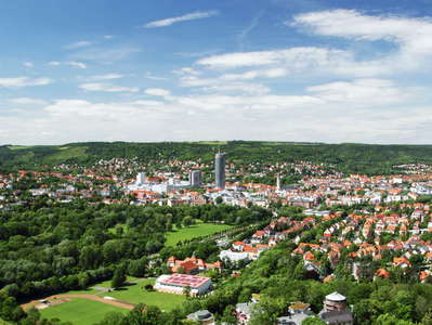 Jena  |  Panoramic view from Kernberge