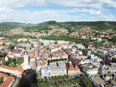 Jena  |  Panoramic view from Jen Tower