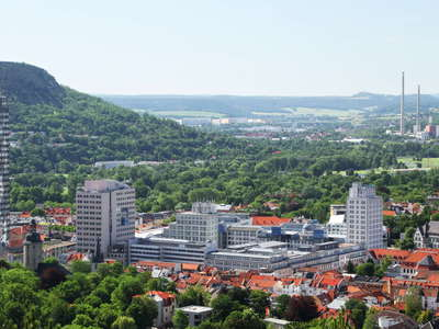 Jena  |  Jen Tower and Saale Valley