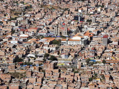 Huaraz  |  City centre
