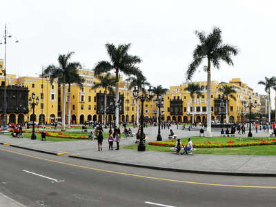 Lima  |  Plaza Mayor